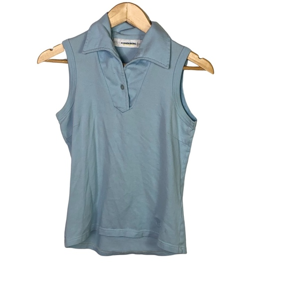 J.Lindeberg Womens Sleeveless Polo Shirt